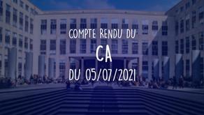 Conseil d'Administration du 05/07/2021- Création du CES ( Conseil Environnemental et Social )