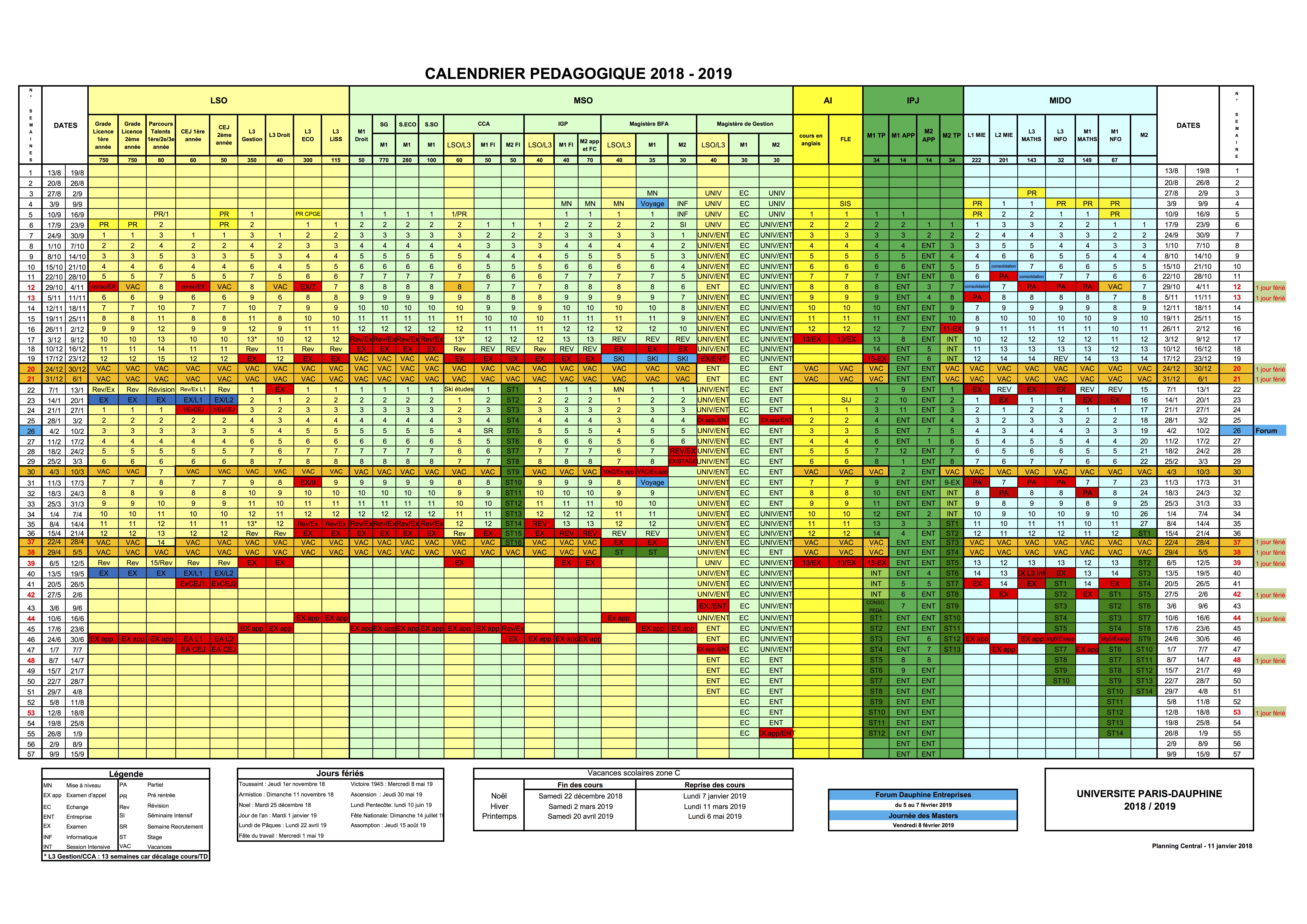 Calendrier Pédagogique Dauphine 2022 Calendrier Mar 2021: Calendrier Pédagogique Dauphine 2021 2022