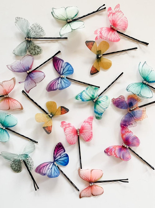 Butterfly Hair Pin Sets