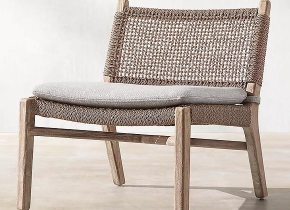 RH Menorca Woven Chair