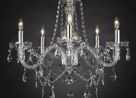 Crystal Chandelier 5 arm