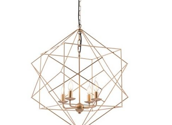 Elegant Geometric Chandelier