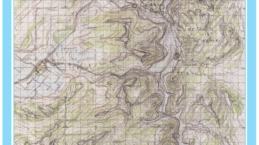 Topographic sketch 4-9-1