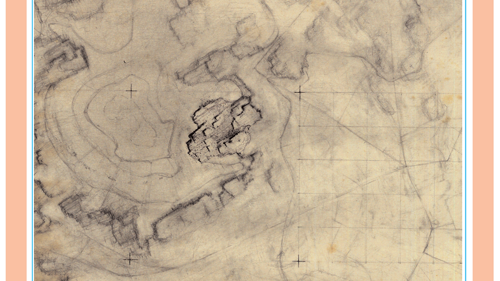 Topographic sketch 007