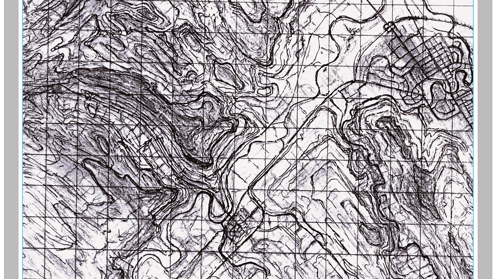 Topographic sketch 004