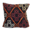 Brown + Orange Kilim Pillow 16x16