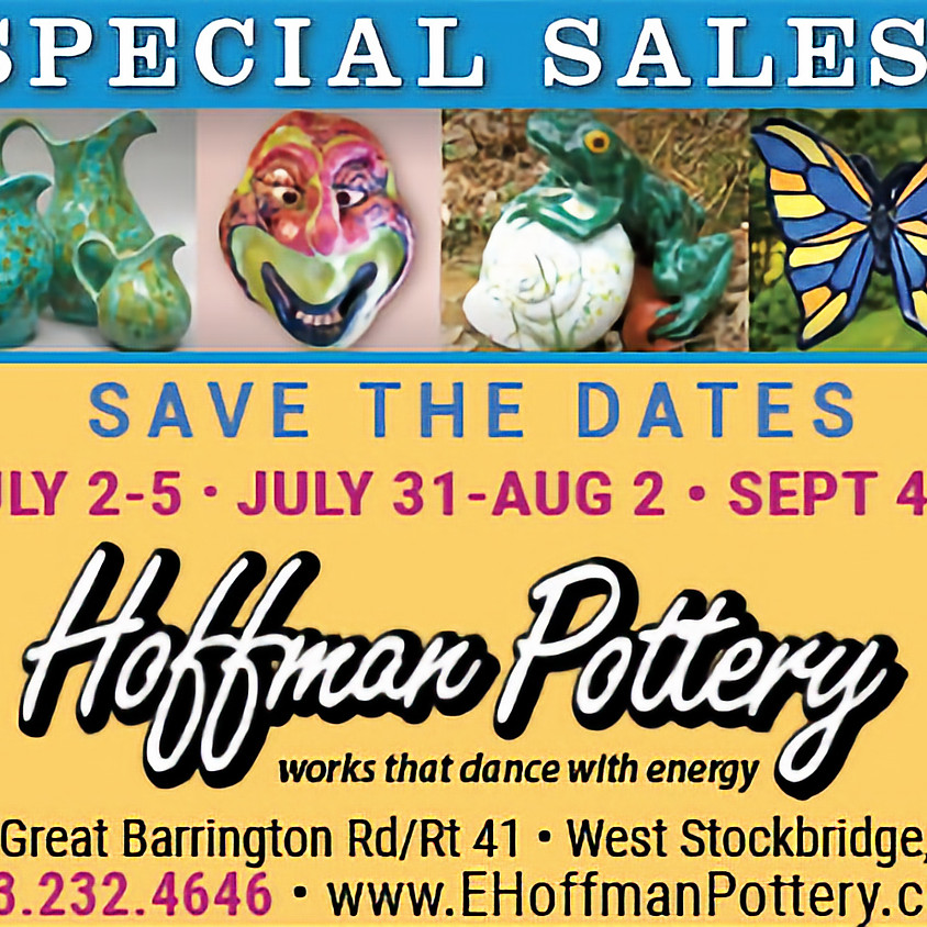 Hoffman Pottery Labor Day Sale