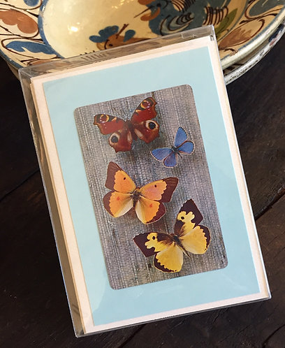 Butterfly Note Cards Set/6