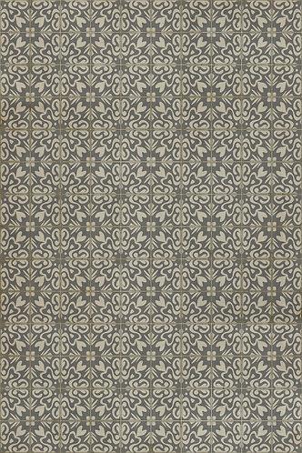 Vintage Vinyl Floorcloth Pattern 56 - Mr Wickham - 20x30