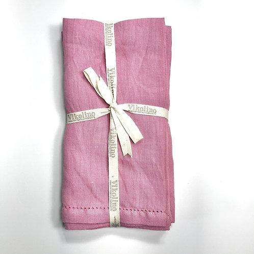 Linen Napkin Set/4 - Wild Rose