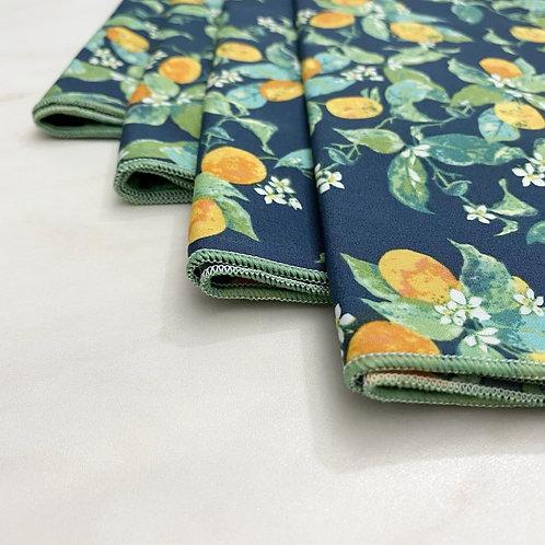 Citrus Cotton Napkins Set/4