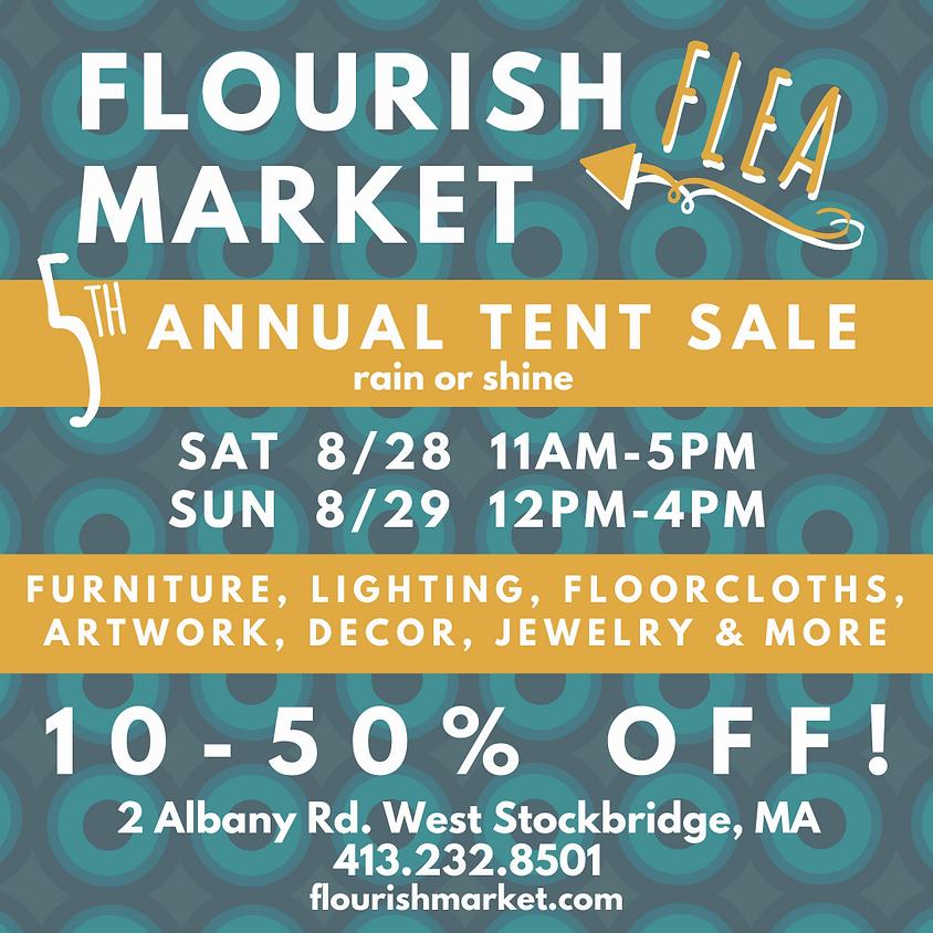 Flourish Market Tent Sale