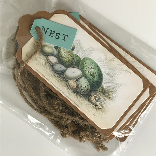 Nest Gift Tags - Set of 6