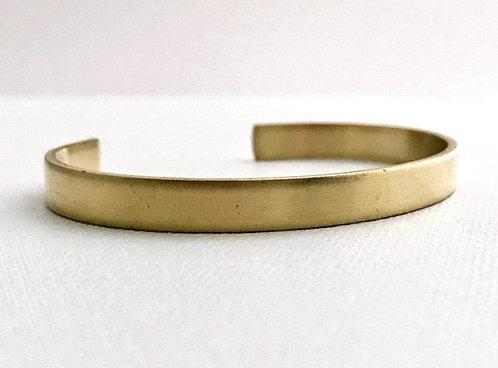Raw Brass Cuff Bracelet