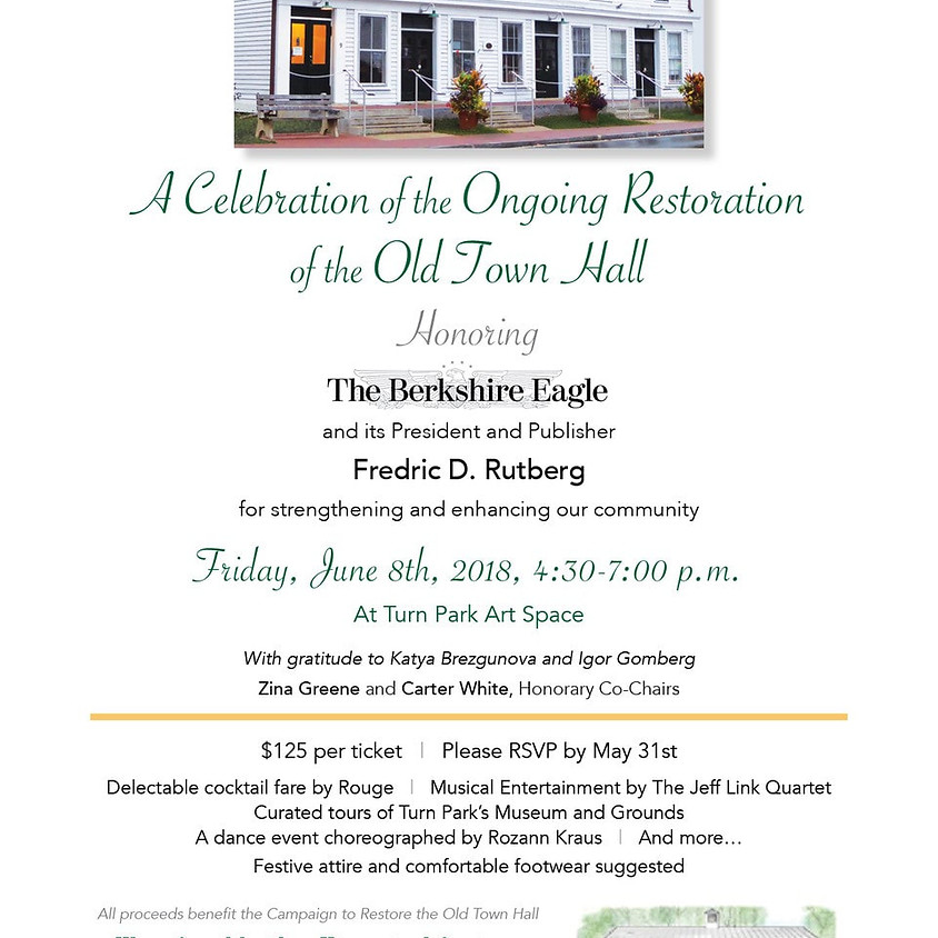 Celebration of the Ongoing Restoration of the Old Town Hall