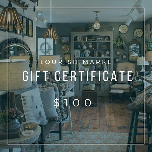 Flourish Market Gift Certificate