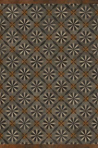 Vintage Vinyl Floorcloth - Artisanry Roycrofter Intellectual Life - 20x30