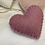 Thumbnail: Felt Wool Heart Ornament