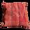 Red Damask Kilim Pillow 24x24