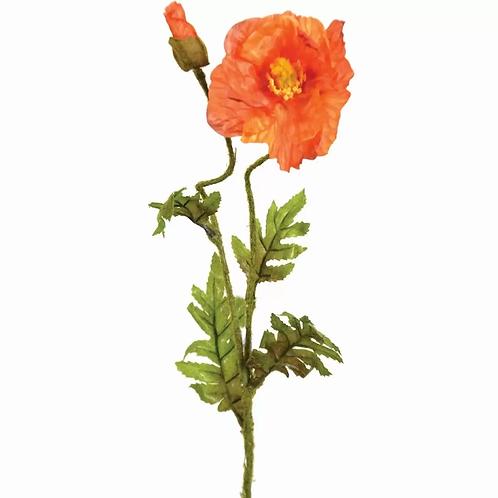 Poppy Stem - Orange