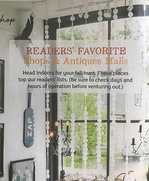 Flea Market Style Magazine Flourish Market Reader's Favorite Shops