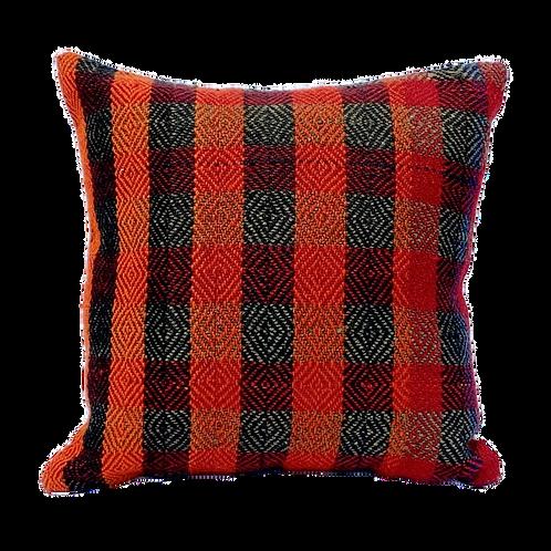 Plaid Brights Kilim Pillow 16x16