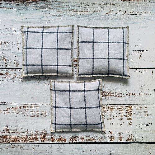 Lavender Sachet Set of Windowpane
