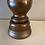 Thumbnail: Vintage Turned Dark Wood Lamp