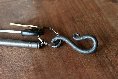 Straight Belt Loop Key Ring
