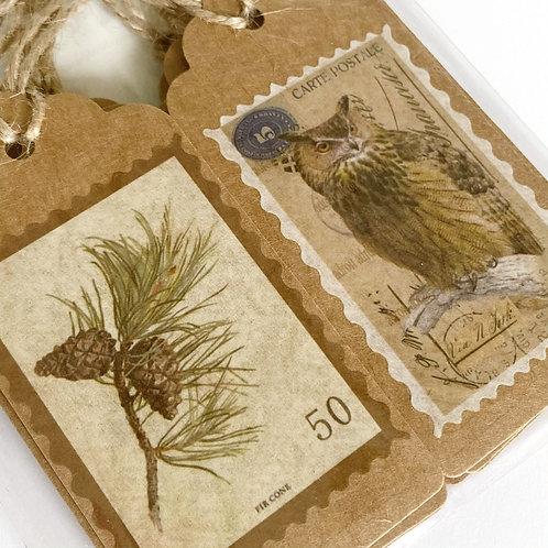 Woodland Gift Tags Set/12