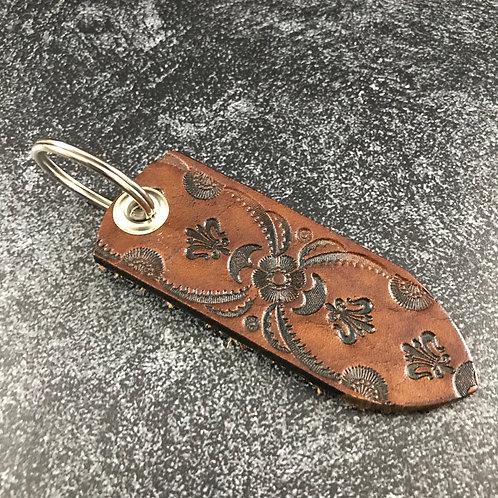 Leather Belt Key Ring
