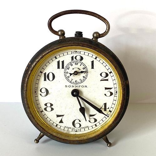 Vintage SONNFOR Antique French Table Clock