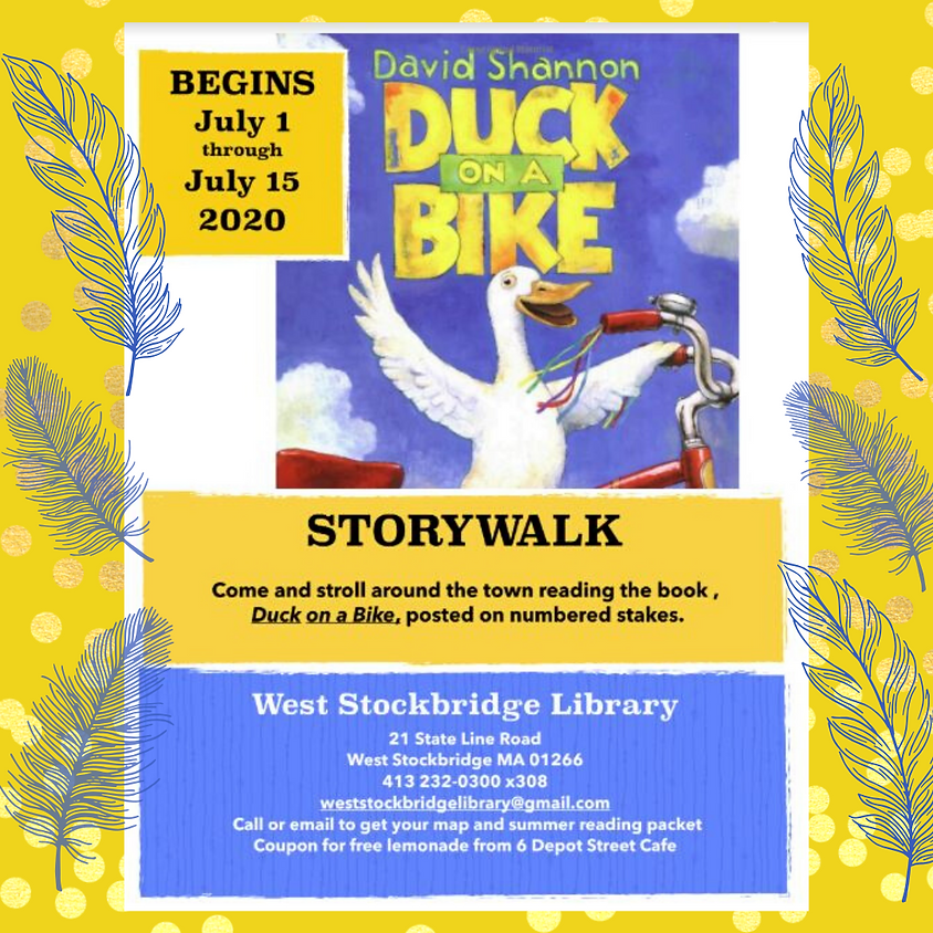 Duck on a Bike STORYWALK