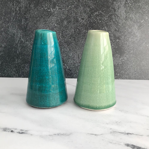Terracotta Cone Bud Vase Small