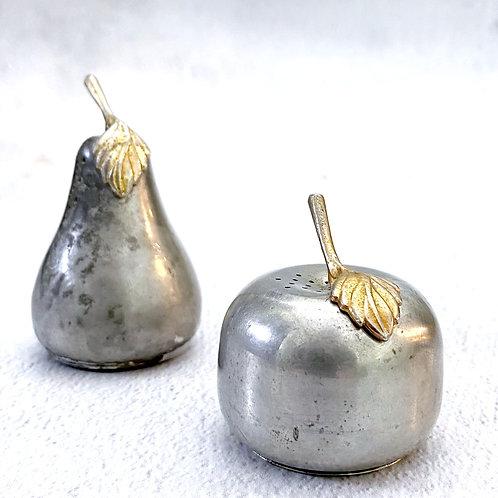 Vintage Apple + Pear Salt + Pepper Set