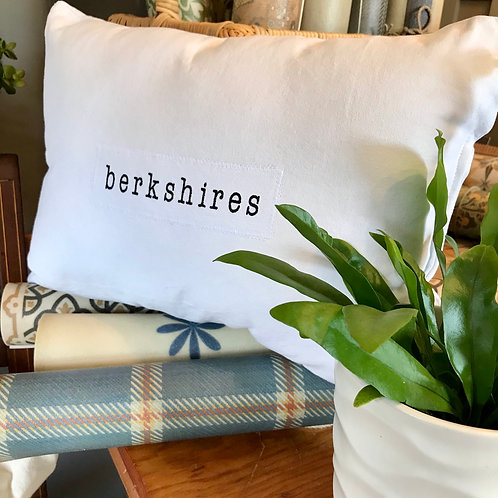 Berkshires Canvas Pillow