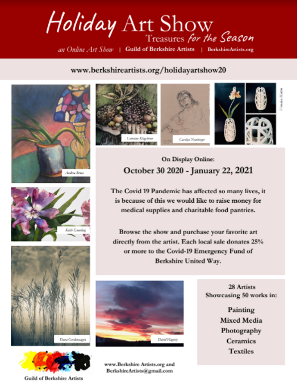 Holiday Art Show Guild of Berkshire Arti