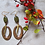 Thumbnail: Olive Oval Hoop + Dagger Earrings