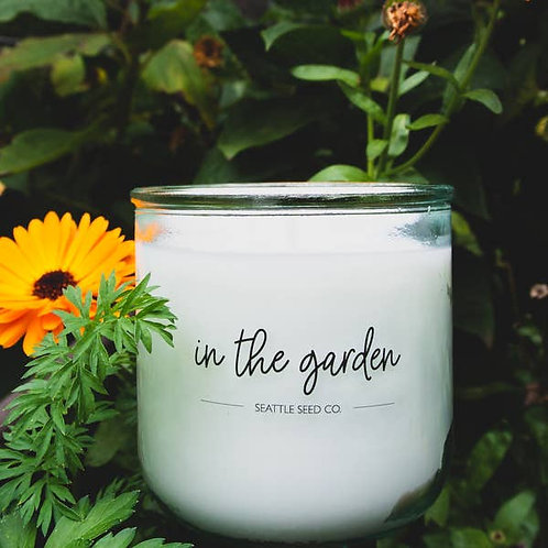 In The Garden Soy Wax Candle