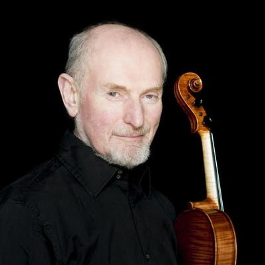 Michael Zaretsky solo violinist performs J. S. Bach: The Six Cello Suites