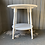 Thumbnail: Round Oak Table with White Finish