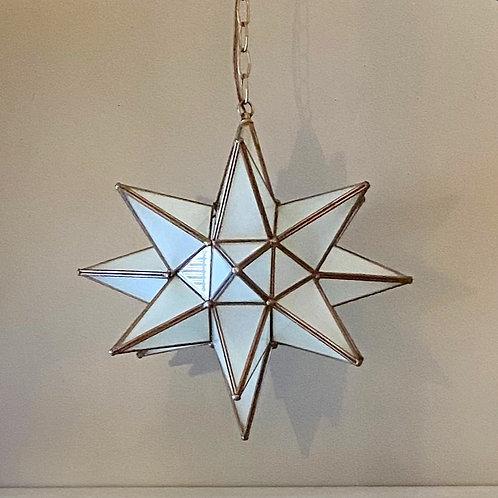 Vintage Moravian Star Pendant Lamp