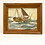 Thumbnail: Vintage Oil on Board Painting of Boat by R. St. James