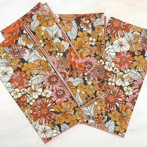 Mildred Floral Cotton Napkin Set/4