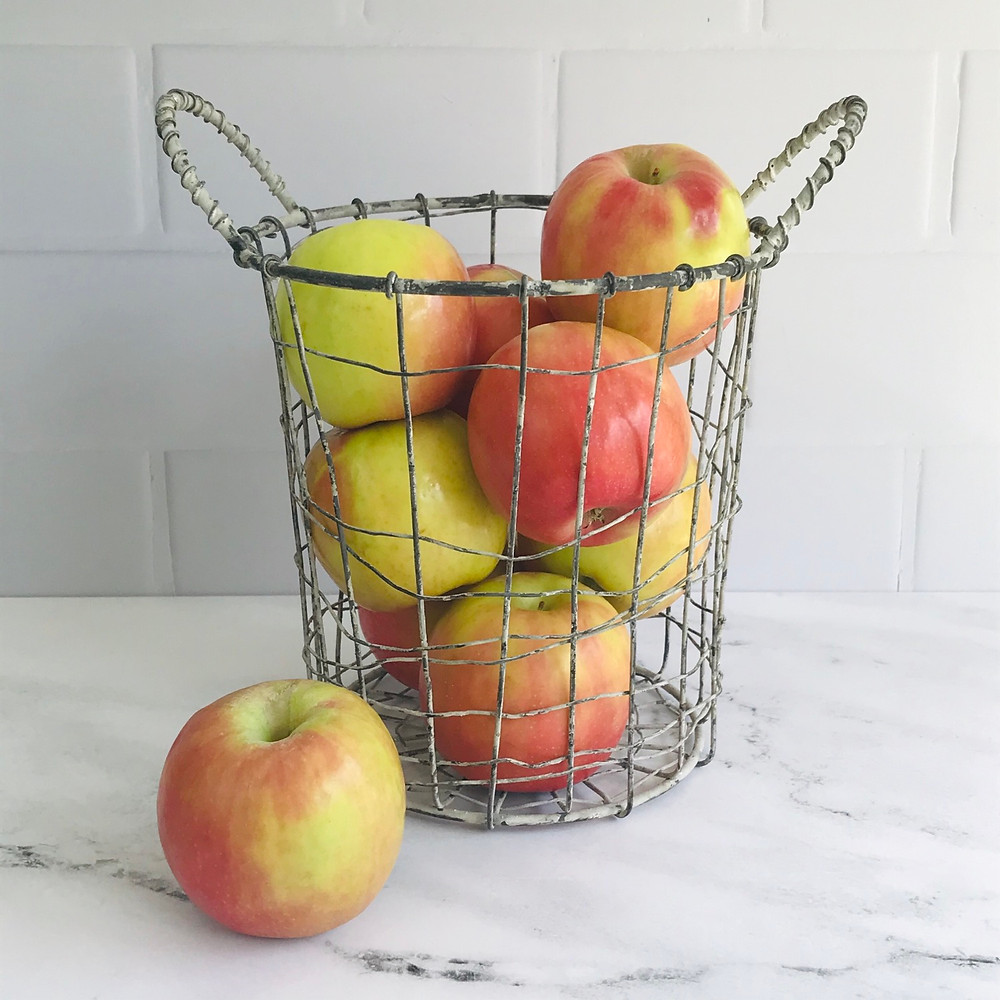 apple basket wire