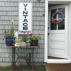 vintage sign side door sewing machine ba