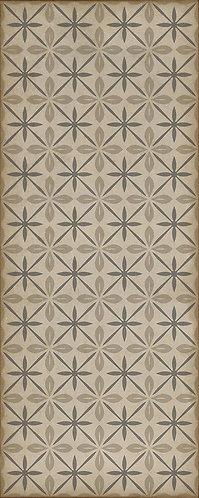 Vintage Vinyl Floorcloth - Pattern 81 The Carhop - 36x90