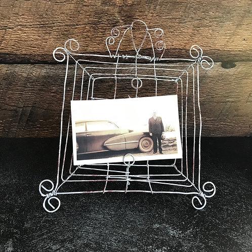 Wire Photo Frame