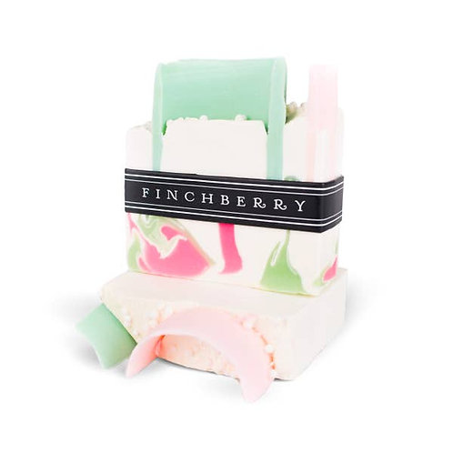 FinchBerry Soap Bar Slice Sweetly Southern Honeysuckle