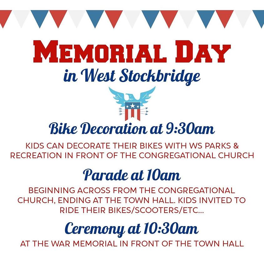 Memorial Day in West Stockbridge